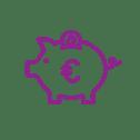 Sparen white purple Setlog